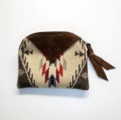 pendleton wool zipper pouch