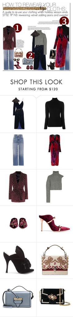 """how to rewear your nye cloths: STYLE TIP N3"" by esterp ❤ liked on Polyvore featuring Johanna Ortiz, La Fileria, Golden Goose, Attico, Blazé Milano, Michael Kors, Sam Edelman, Malone Souliers, N°21 and Loewe"