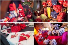 Christmas wedding ornaments