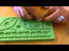 Como retirar facilmente fondant o pasta de goma del molde
