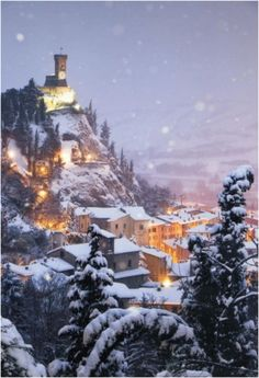 Winter Photography from  Cesky Krumlov Czech...