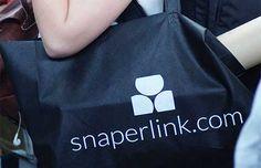 Bolsa negra para promocionar tu marca #personalización #bolsa