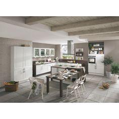 Einbauküche in mattem Weiß – flexibel planen, entspannt kochen