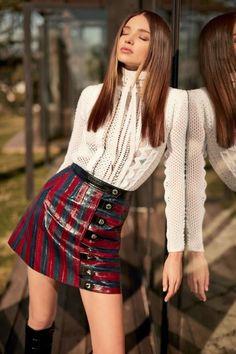 Parisienne: Button-Front Skirts