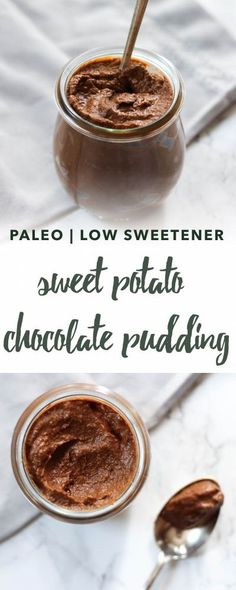 Chocolate Sweet Potato Pudding Recipe