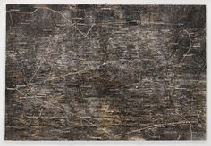 ANSELM KIEFER Lichtfalle, 1999 Shellac, emulsion, glass, and steel trap on linen 149 x 220 inches x cm) Photo by Rob McKeever Anselm Kiefer, Robert Rauschenberg, Rudolf Stingel, Franz West, Harmony Korine, Gagosian Gallery, Japanese Prints, Contemporary Artists, Pop Art
