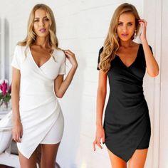 Asymmetrical Hem Dress, $27! Thick material. Www.iwearred.com