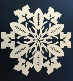 Some Michigan Snowflake Arts and Crafts!