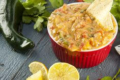 Super skinny queso has only 60 calories per serving
