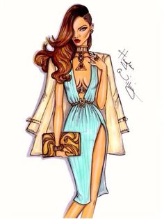 Hayden Williams Fashion Illustrator