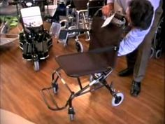 Transport Chair is easier to carry in the car than a wheelchair.