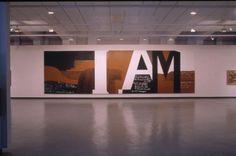 Gate III, Colin McCahon, 1970, VUW.1972.1  @Ruth H. Allen New Zealand Art, Nz Art, Political Art, Venice Biennale, Modern Masters, Native Art, Visual Identity, Asian Art, Word Art