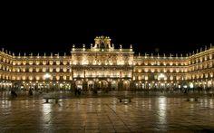 Plaza Mayor, Salamanca, España
