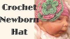 Easy Breezy Crochet Newborn Hat
