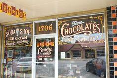 Big Top Candy Shop in Austin TX