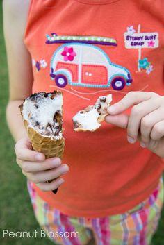 Campfire Cones: Mmmmm. Delicious.