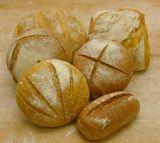 Pan de masa madre y larga fermentación Bizkarra.