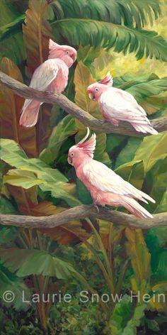 See what labelinda (labelinda) found on We Heart It, your everyday app to get lost in what you love. Art Tropical, Tropical Birds, Colorful Birds, Pretty Birds, Beautiful Birds, Bird Artwork, Australian Birds, Bird Illustration, Wildlife Art
