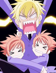 Tamaki, Hikaru & Kaoru