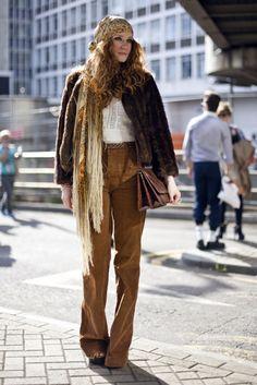 London Hippie Lady