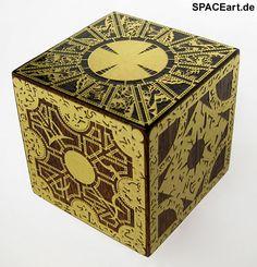 Hellraiser: Pinhead Puzzlebox, Fertig-Modell ... https://spaceart.de/produkte/hr012.php