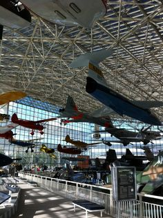 Aviation museum in Seattle - Museum of Flight located at one of Boeing's sites. Great place!