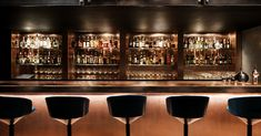 Design Research Studio, Tom Dixon's architectural and interior arm, has unveiled its first ultra-exclusive State-side hospitality project in the form of Himitsu, a cocktail lounge-bar in Atlanta.