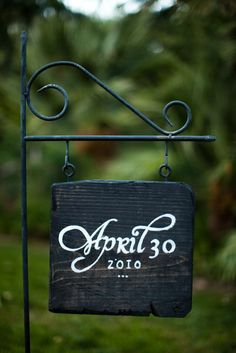 Cute in the garden... and you can add smaller boards beneath it for children's birthdays.