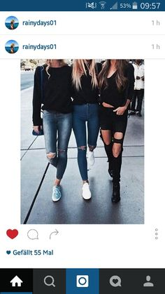 Streetstyle with your best friends