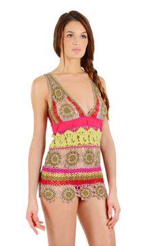 Outstanding Crochet: Pain Du Sucre. Crochet swim - wear