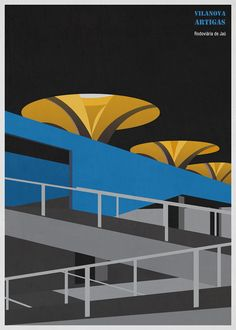 A Daily Dose of Architecture: More of André Chiote's Architectural Illustrations