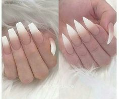 How to choose your fake nails? - My Nails Nail Swag, Manicure E Pedicure, Pedicures, Short Nail Designs, Nail Art Designs, Prom Nails, White Nails, Yellow Nails, Purple Nails
