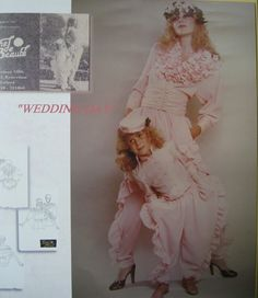 1979 Weddingday poster Designs by Tache de Beaute