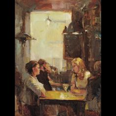 Jill Banks - Scene at the Bar