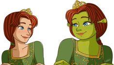 Raise your hand if you love princes Fiona as much as I do ! -Sk Princess Fiona © Shrek,Dreamworks***********************Check out my ot. Shrek Dreamworks, Disney And Dreamworks, Cartoon Movies, Cartoon Characters, Fiona Y Shrek, Princesa Fiona, Cute Little Drawings, Princess Photo, Fairytale Art