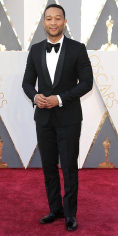 2016 Oscars Red Carpet Photos - John Legend - from InStyle.com