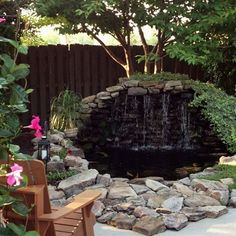 Nice 48 Gorgeous Backyard Ponds Water Garden Landscaping Ideas. More at https://trendhomy.com/2018/02/28/48-gorgeous-backyard-ponds-water-garden-landscaping-ideas/ #watergarden  #LandscapingIdeas