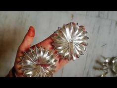 Gota flower making #8/Gota Patti Work /Hand Embroidery /making of flower - YouTube