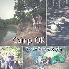 Inexperienced campers can get their first taste of hiking by day and fire-roasting by night at Oklahoma's Camp OK - State Parks Style. Try your hand at camping at one of Oklahoma's state parks without having to shell out for your own equipment.