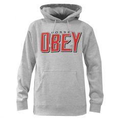 OBEY Snake Bite sweat à capuche heather grey - black 75€ #obey #sweatcapuche #hoodie #hoody #hoodies #fleece #skate #skateboard #skateboarding #streetshop #skateshop @April Gerald Skateshop