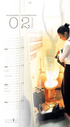 Rotwild Kalender Februar 2012