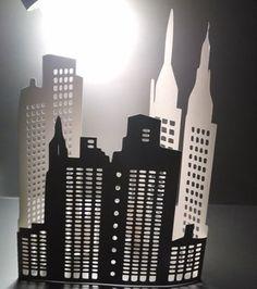 DIY extra large 3D New York city skyline the by hilemanhouse, $14.95
