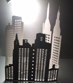 DIY extra large 3D New York city skyline the by hilemanhouse