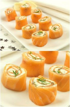 salmon pinwheels easy party food recipe great for christmas parties christmas appetisers Christmas Nibbles, Christmas Buffet, Christmas Party Food, Xmas Food, Xmas Party, Christmas Canapes, Christmas Dinner Starters, Salmon Pinwheels, Pinwheels Food