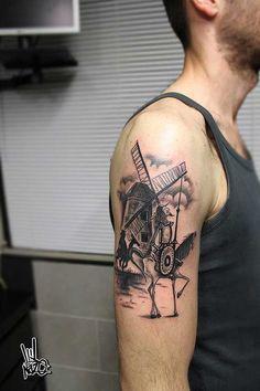 15 Incredible Don Quixote Tattoos