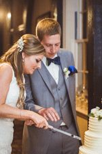 Lindsey and Aaron's Boar's Head Real Wedding | Photos by Katie Wilson Photography