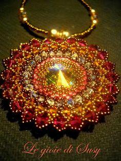 Ciondolo Incas - love the colors