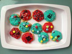 Homemade Marzipan cookies!