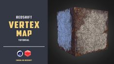 Quick demonstration of using vertex map with redshift [CINEMA 4D TUTORIAL]