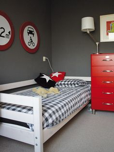 Stoere jongenskamer #kinderkamer #inspiratie | Great bedroom for a boy #kidsroom #kids
